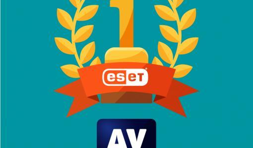 AV-Comparatives deler ut gullmedalje til ESETs forbrukerprodukter for cybersikkerheten