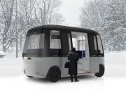 MUJI ja Sensible 4 esittelevät Gachan, maailman ensimmäisen itseohjautuvan, kaikkiin sääolosuhteisiin soveltuvan robottibussin
