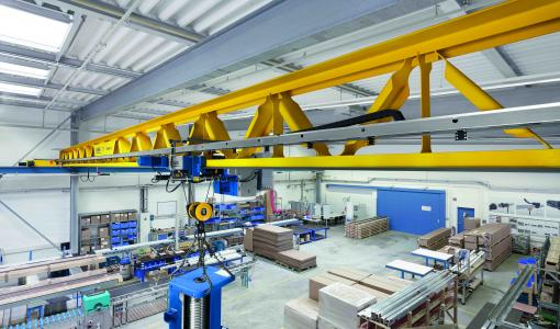 ALGOL TECHNICS BUILDS INTELLIGENT LIFTING SOLUTIONS