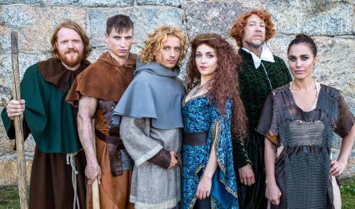 Robin Hood tar med sig Martin Almgren, Axel Schylström, Joakim Nätterqvist, Tilde Fröling, Elisa Bryant och Christian Arnold till Helsingborg
