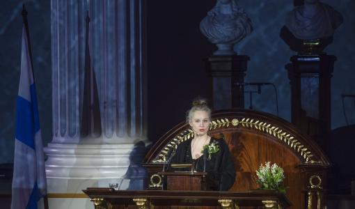 Läs talet Sara Stridsberg höll på Svenska litteratursällskapets årshögtid