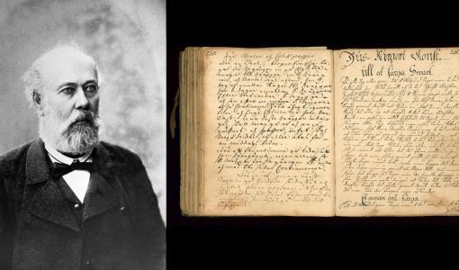 SLS skapar webbplats för hushållsböcker från 1700-talet och digitaliserar delar av J.O. Ranckens arkiv