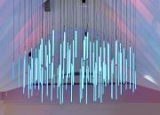 Finskt köpcentrum Hansakvarteret renoverades på nästan 25 miljoner euro – ljuskonstverket Pilvi är renoveringens höjdpunkt