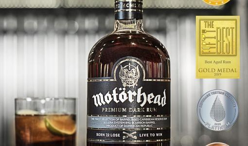 Världens bästa Rock n Rollsprit - Motörhead Premium Dark Rum vinner sitt fjärde internationella pris