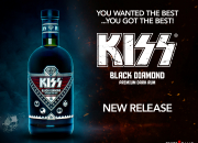 Nu lanseras KISS Black Diamond Premium Dark Rum, den första produkten i KISS Rum Kollection
