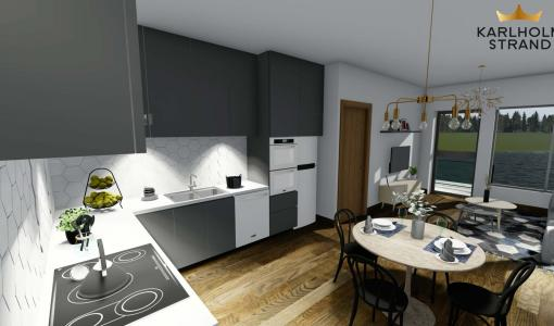 Karlholm Strand växer - Nu ska det byggas 161 lägenheter