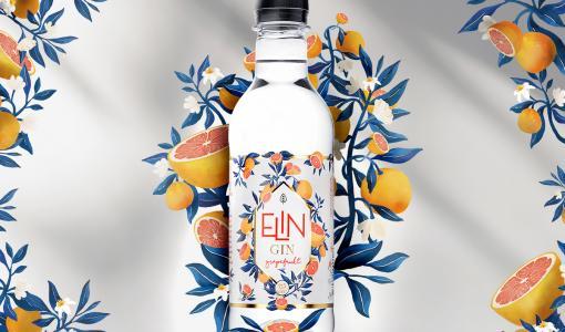 ELIN Gin Grapefrukt – smakrik gin i klimatsmart förpackning