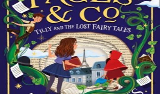 Nyhed på vej fra HarperCollins: TILLY OG DE FORSVUNDNE EVENTYR af Anna James