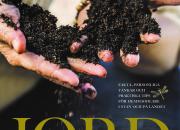 Liselotte Roll ger ut boken JORD – oumbärlig läsning om grunden till allt liv, för trädgårdsälskare, hemmaodlare och alla med ett miljöintresse