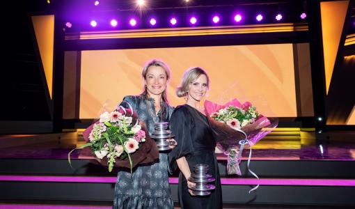 Emelie Schepp tar för andra året i rad hem priset Storytel Awards i kategorin Spänning!