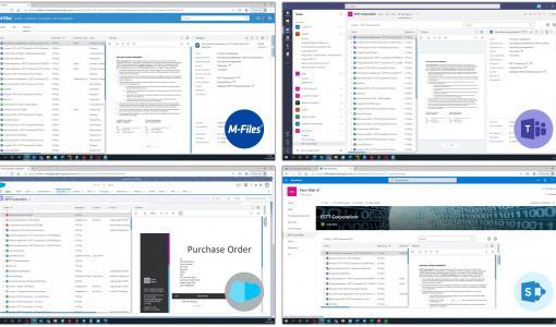 M-Files nya webbklient erbjuder en förbättrad användarupplevelse, snabbare användaracceptans och högre avkastning på investeringen i informationshantering