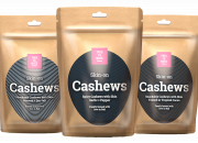 This is Nuts shows some skin: Introducing the Skin-on Cashews.