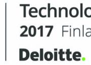 Liana Technologies har placerats på Deloitte Technology Fast 50 Finland listan för åttonde året i rad